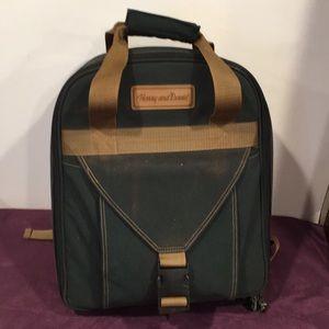 Harry and David picnic backpack basket